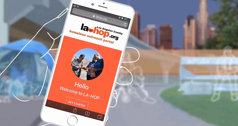 Visit la-hop.org to submit homeless outreach requests.